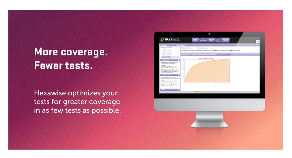 Hexawise - More Coverage Fewer Tests