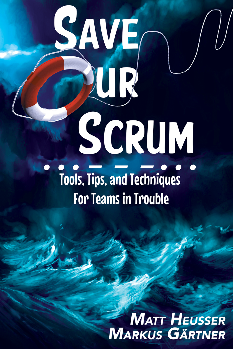 Save our Scrum (book cover)
