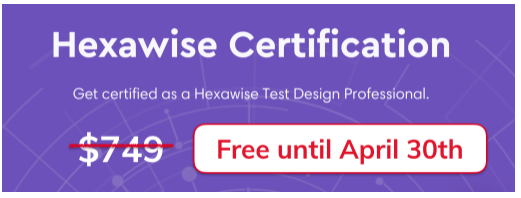 Hexawise certification graphic